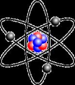 Struttura atomica schematica