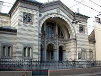 Die Chorsynagoge von Vilnius, die einzige Synagoge in der Stadt, die den Holocaust überlebt hat.