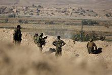 Afghaanse troepen vallen Taliban aan, in de provincie Helmand.