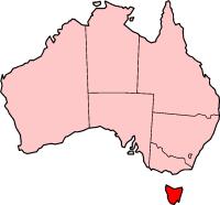 Tasmanië in Australië