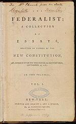In de Federalist Papers, schreef James Madison dat democratie gevaarlijk was