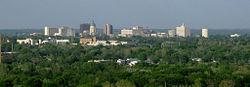 Topeka, hlavní město státu Kansas
