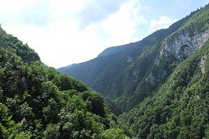 Ugar River Canyon