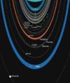 Het schema van het ring-moon systeem van Uranus. Ononderbroken lijnen geven ringen aan; stippellijnen geven banen van manen aan.