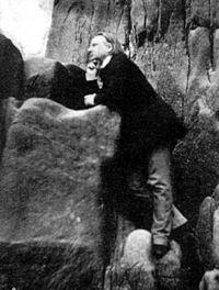 Wśród skał na Jersey (1853-55)