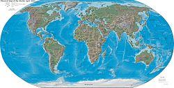 Wereldkaart (2004, CIA World Factbook)