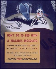 Affiche uit het tijdperk van de Tweede Wereldoorlog.