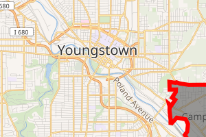 Interaktive Karte von Youngstown